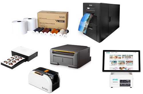 Distribuidor de impresoras HiTi