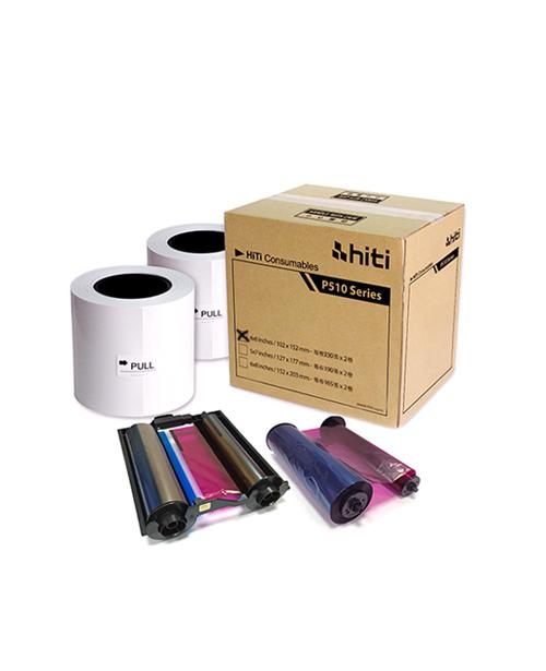 "Consumible HiTi modelo P660, para impresora HiTi P510S, fprmato 4x6"", 660 impresiones, 2 bobinas con 330 fotos c/u,"